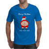 Rude Santa Father Christmas Mens T-Shirt