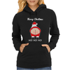 Rude Santa Father Christmas Womens Hoodie