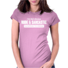 RUDE & SARCASTIC Womens Fitted T-Shirt