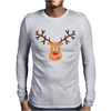 Rudolph Design Mens Long Sleeve T-Shirt
