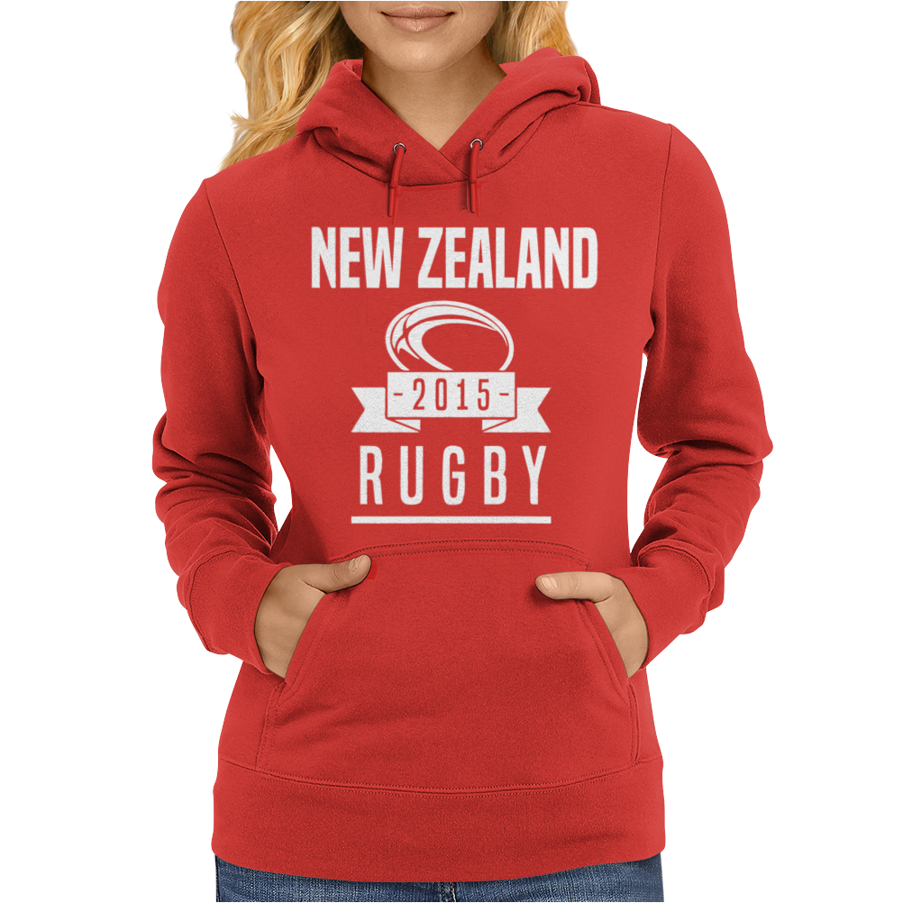 Rugby 2015 Nations Womens Hoodie