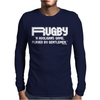 Rugby A Hooligans Gentlemen Mens Long Sleeve T-Shirt