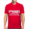 Rugby A Hooligans Gentlemen Mens Polo
