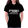 Rugby A Hooligans Gentlemen Womens Polo