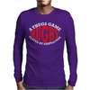 Rugby A Thugs Game Played By Gentleman Mens Long Sleeve T-Shirt