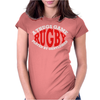 Rugby A Thugs Game Played By Gentleman Womens Fitted T-Shirt