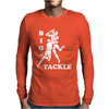 Rugby Big Tackle Mens Long Sleeve T-Shirt