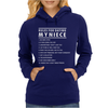 Rules For Dating My Niece Womens Hoodie