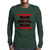 Run Devil Run Mens Long Sleeve T-Shirt