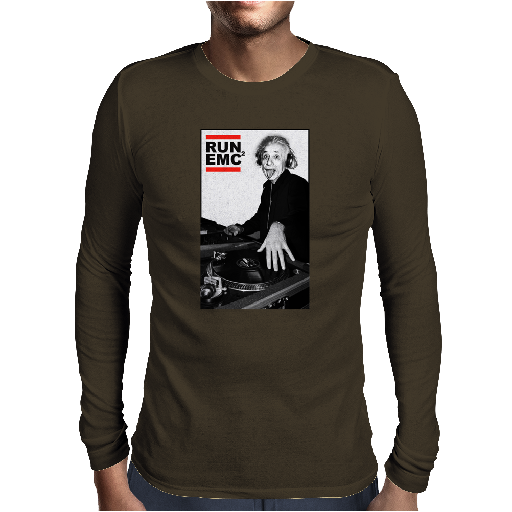 RUN EMC Einstein Mens Long Sleeve T-Shirt