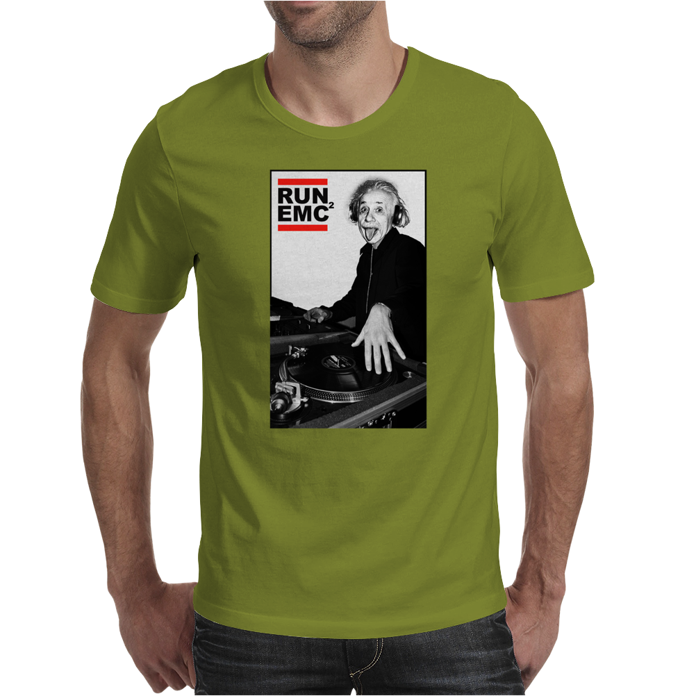 RUN EMC Einstein Mens T-Shirt