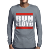 Run Floyd Mens Long Sleeve T-Shirt