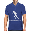 Run For Your Life Mens Polo