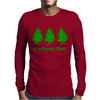 Run Forest Run Mens Long Sleeve T-Shirt