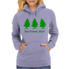 Run Forest Run Womens Hoodie