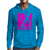 RUN Harder gym workout Mens Hoodie