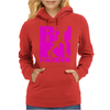 RUN Harder gym workout Womens Hoodie