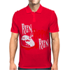 Run Hippie Run Mens Polo