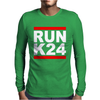 RUN K24 Mens Long Sleeve T-Shirt
