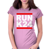 RUN K24 Womens Fitted T-Shirt