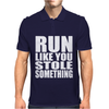 Run Like You Stole Something Mens Polo