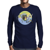 Run, Morty, Run! Mens Long Sleeve T-Shirt