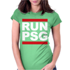 Run Psg Paris St Germain Fotbal Womens Fitted T-Shirt