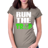 Run The Trap Womens Fitted T-Shirt