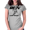 Run Until Death Womens Fitted T-Shirt