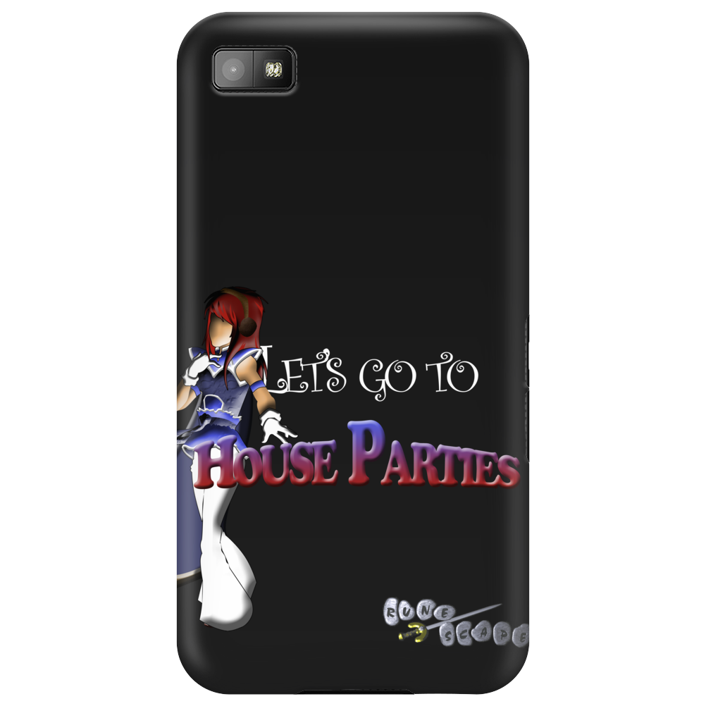 RuneScape Let's go to HouseParties Phone Case