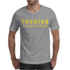 Running it's cheaper than therapy Mens T-Shirt