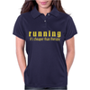 Running it's cheaper than therapy Womens Polo