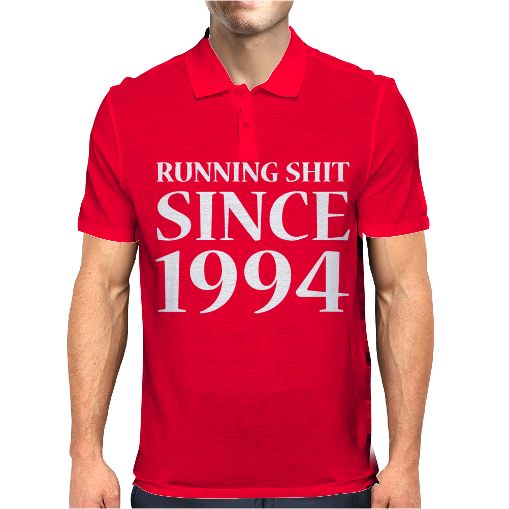 Running Shit Since 1994 Mens Polo