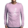 Running through the with my woes Mens Long Sleeve T-Shirt