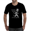 Running through the with my woes Mens T-Shirt