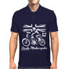 Rusty Motorcycles Mens Polo