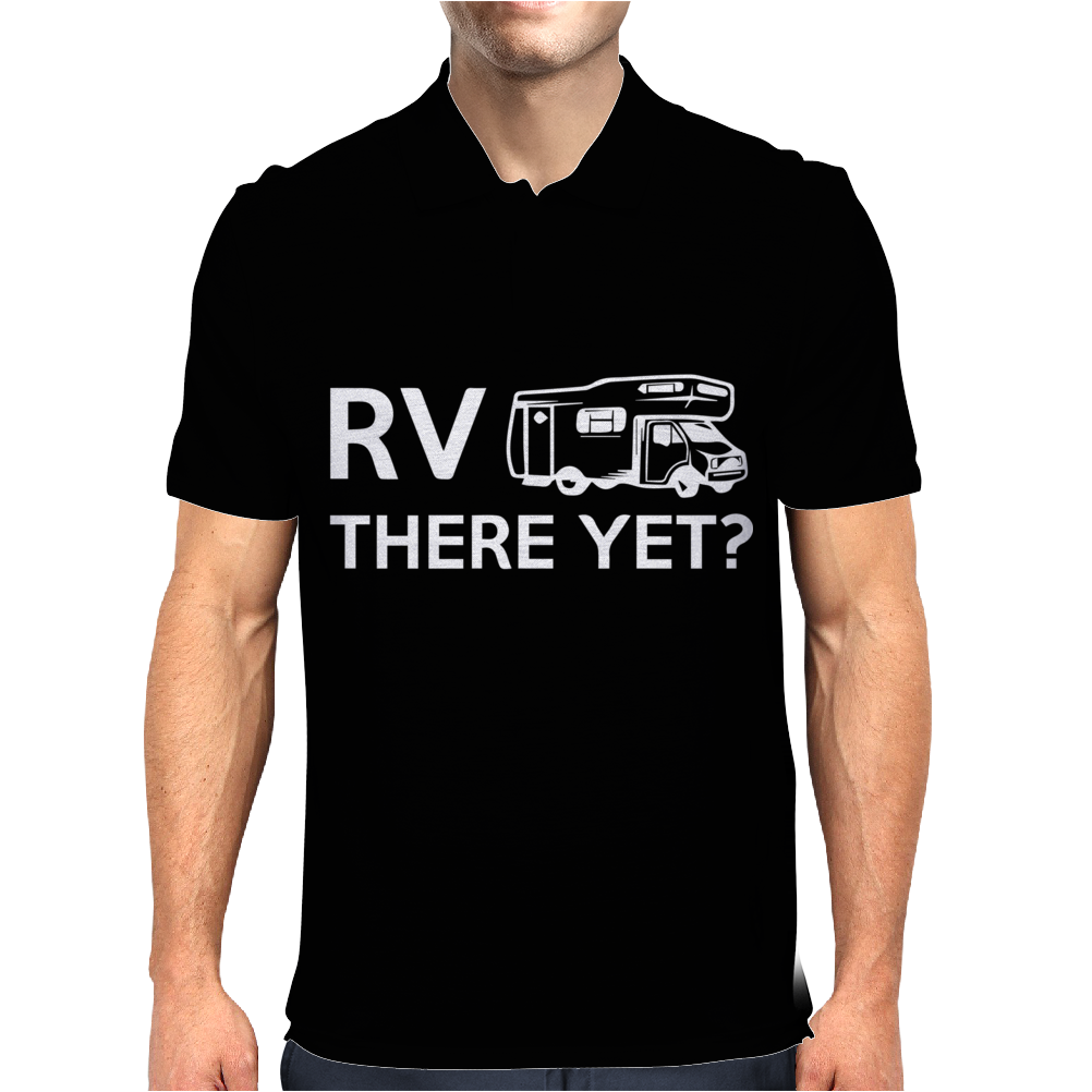 RV There Yet Mens Polo