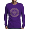 Sacred Geometry Sri Yantra Mens Long Sleeve T-Shirt