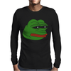 Sad Frog Mens Long Sleeve T-Shirt