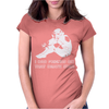 Sad Trooper Womens Fitted T-Shirt