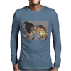 Safari Lion Mens Long Sleeve T-Shirt