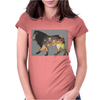 Safari Lion Womens Fitted T-Shirt