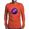 Sagittarius Astrological Symbol Mens Long Sleeve T-Shirt