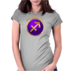 Sagittarius Astrological Symbol Womens Fitted T-Shirt