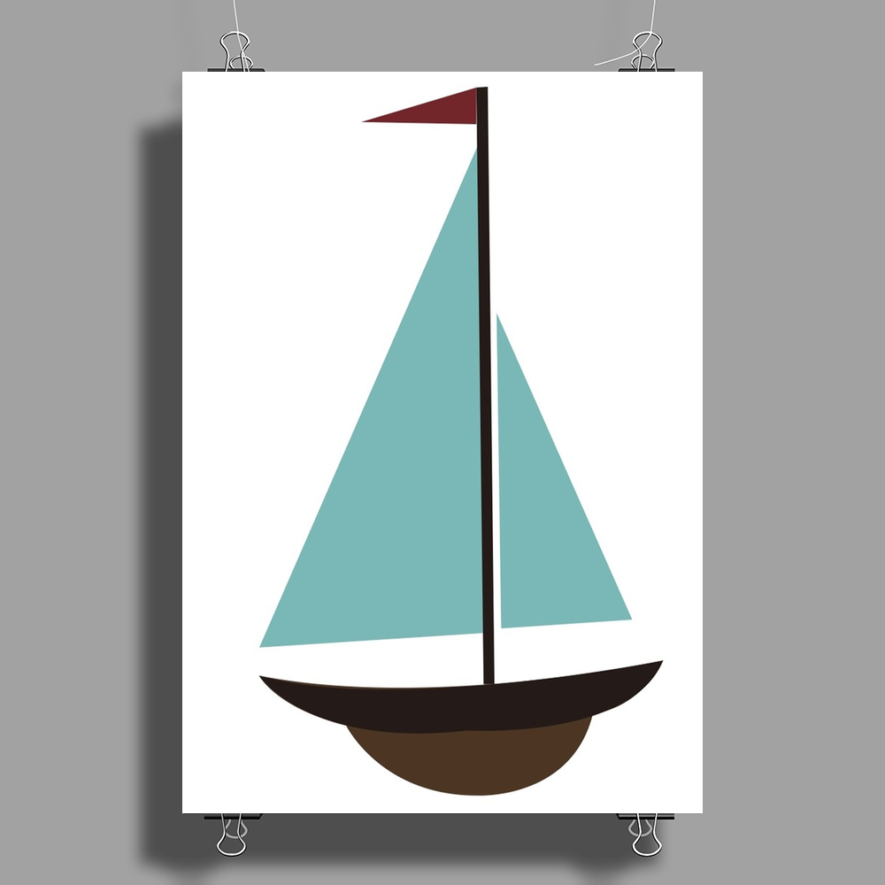 Sailboat Poster Print (Portrait)