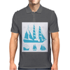 Sailing Boats Mens Polo