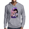 Sailor Chibi Moon and Saturn Mens Hoodie