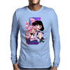 Sailor Chibi Moon and Saturn Mens Long Sleeve T-Shirt
