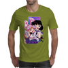 Sailor Chibi Moon and Saturn Mens T-Shirt