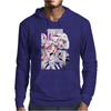 Sailor Chibi Moon and Saturn White Version Mens Hoodie